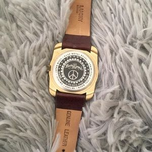 Lucky Brand Accessories - 🎉Sale!🎉 LUCKY BRAND leather watch
